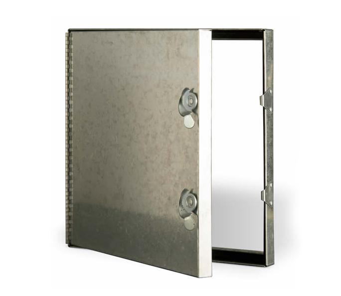 Hinge and CAM Latch Duct Door