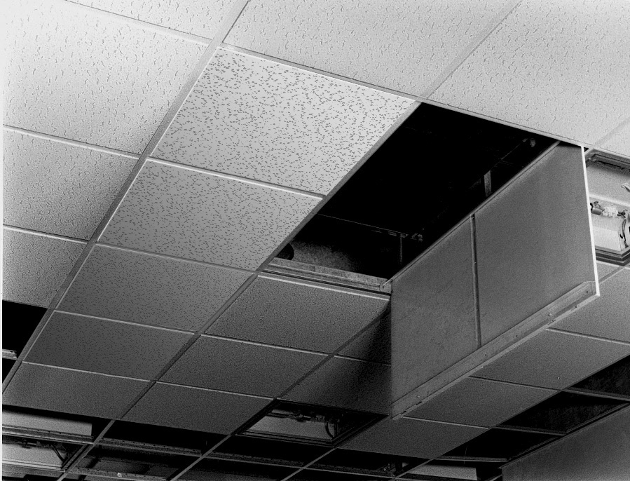 Sesame Exposed Grid Ceiling Hatch